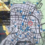GTA5 Police Station Map Location- the gaming guider-min
