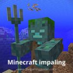 Minecraft impaling - the gamingguider