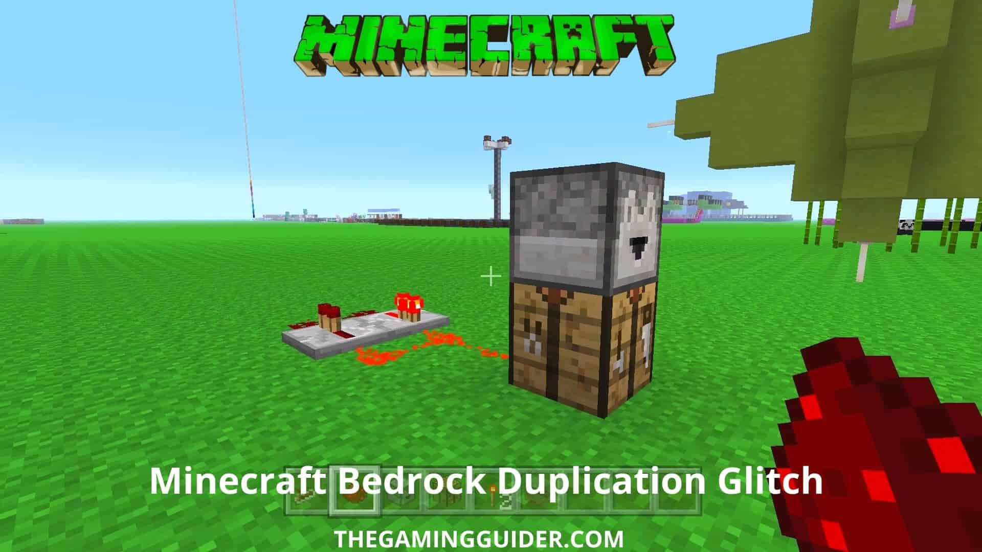 Minecraft Bedrock Duplication Glitch- the gaming guider