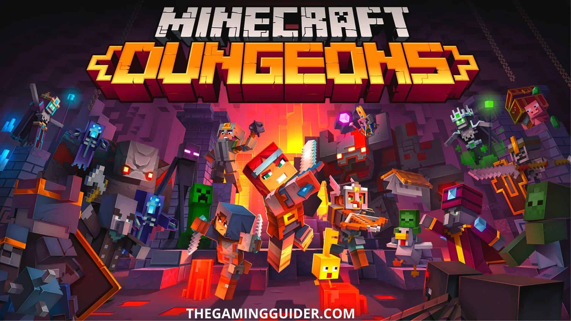 minecraft dungeons - the gaming guider.com