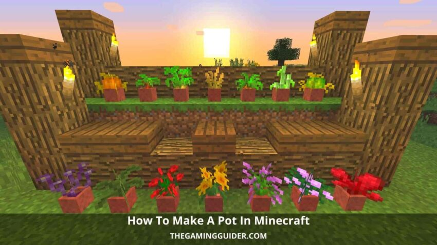 how to make a pot in minecraft-thegamingguider