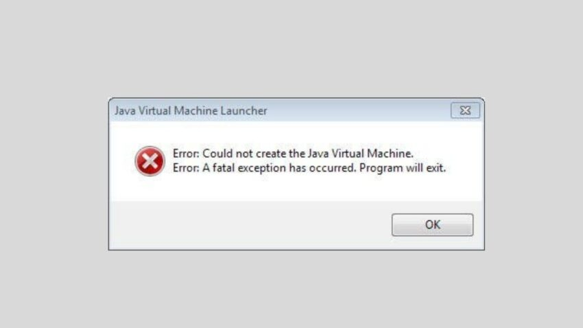 minecraft error occurred during initialization of vm -the gaming guider